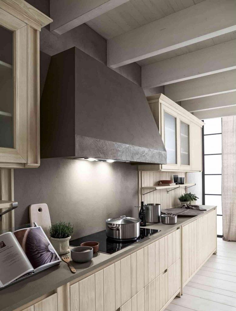 Cucina stile vintage legno Scandola