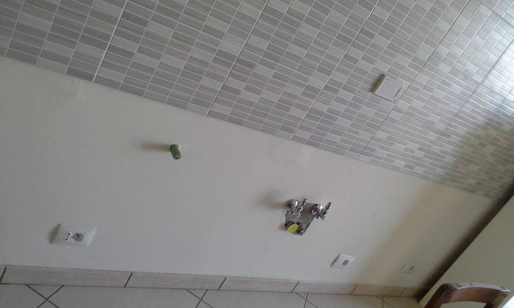Posizione impianti sulla parete per un corretto progetto cucina.