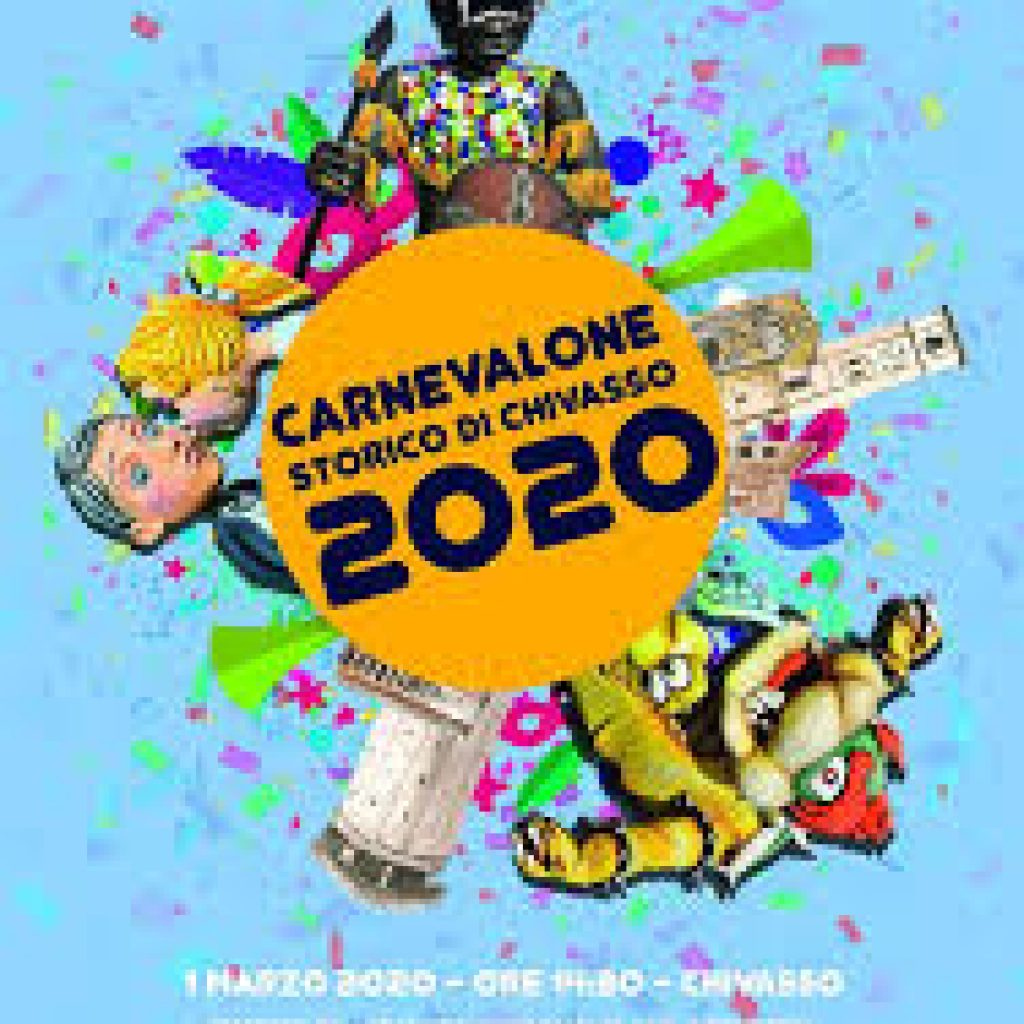 locandina Carnevalone chivasso 2020