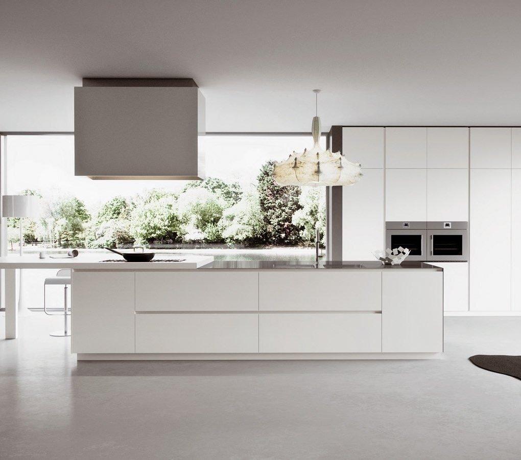 La cucina stile Total white presentata da Lab Cucina Torino