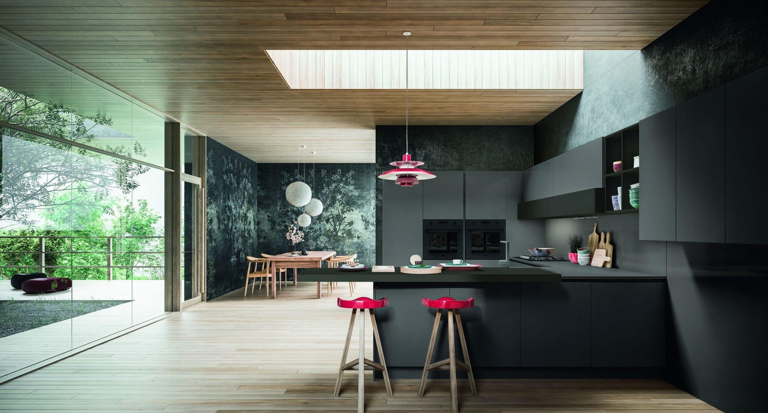 esempio di cucina design in fenix