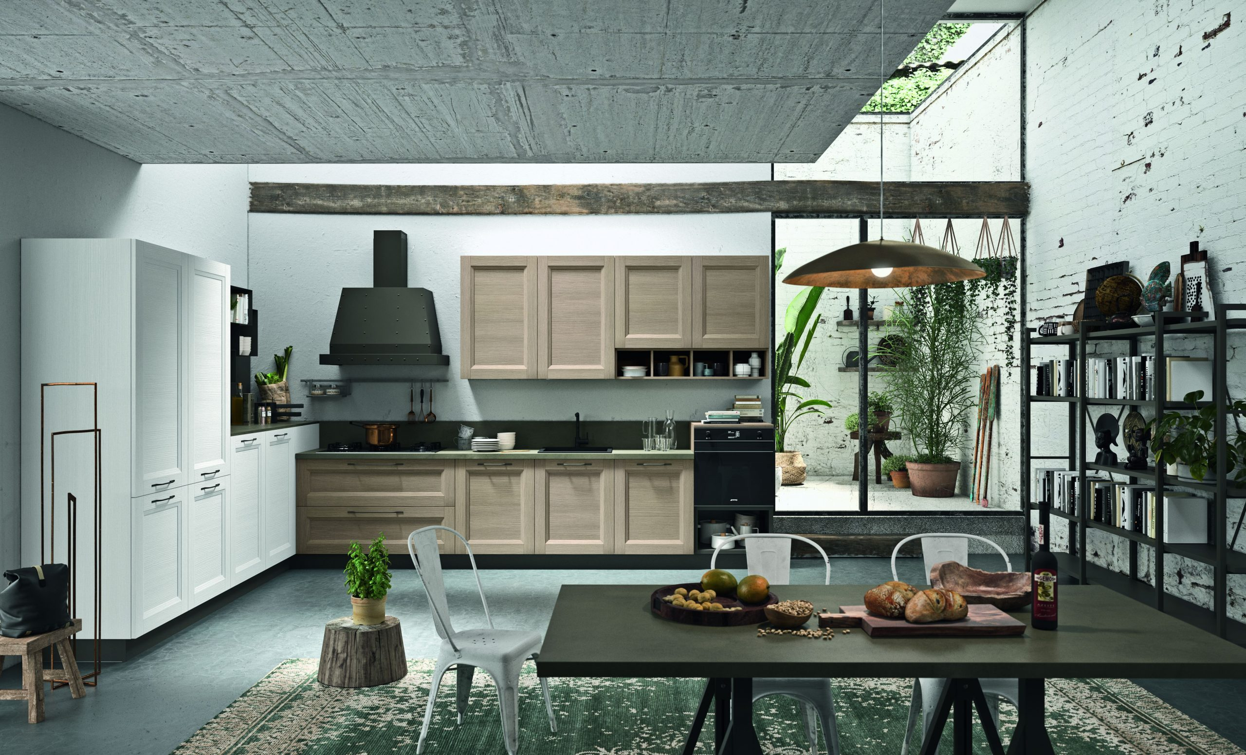 Elementi delle cucine in stile industriale che le caratterizzano