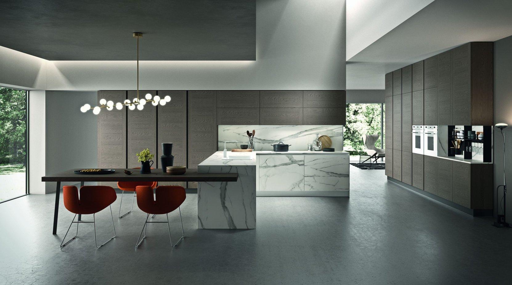 Cucina design poro aperto da Lab Cucine Torino