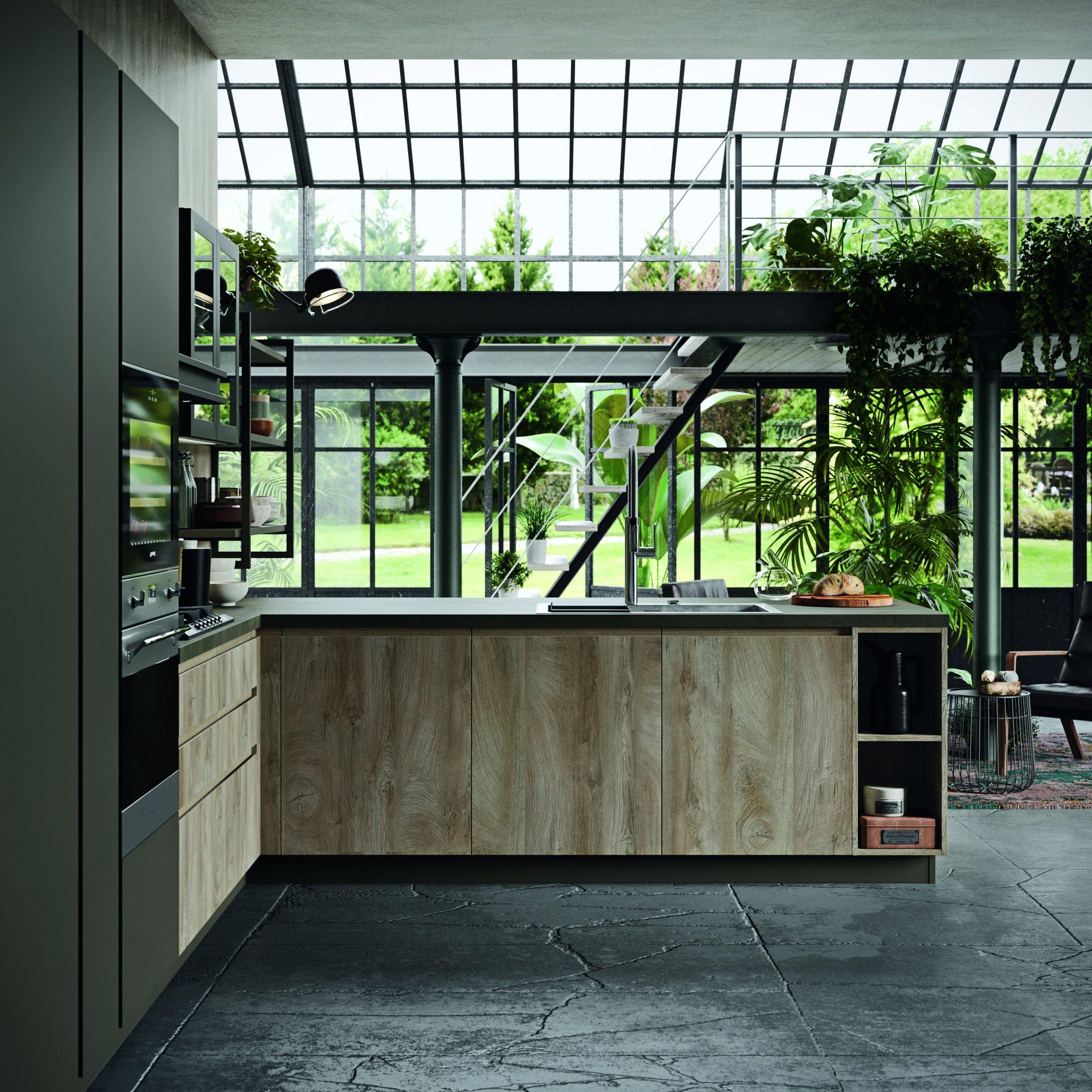 Elementi caratterizzanti le cucine di stile industriale