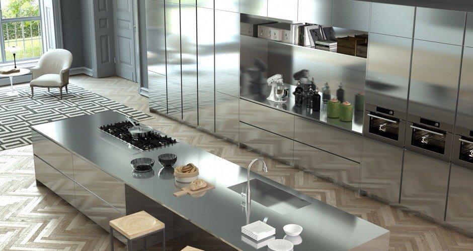 Cucina Moderna in Acciaio Inox cucina in inox tra le proposte di cucine moderne di lab cucine torino