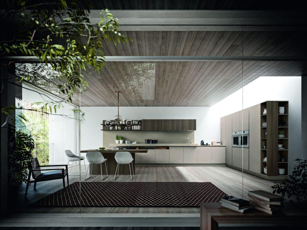 esempio di cucina open space