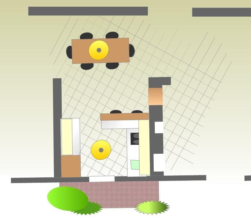 esempio di progetto completo per progettare la cucina