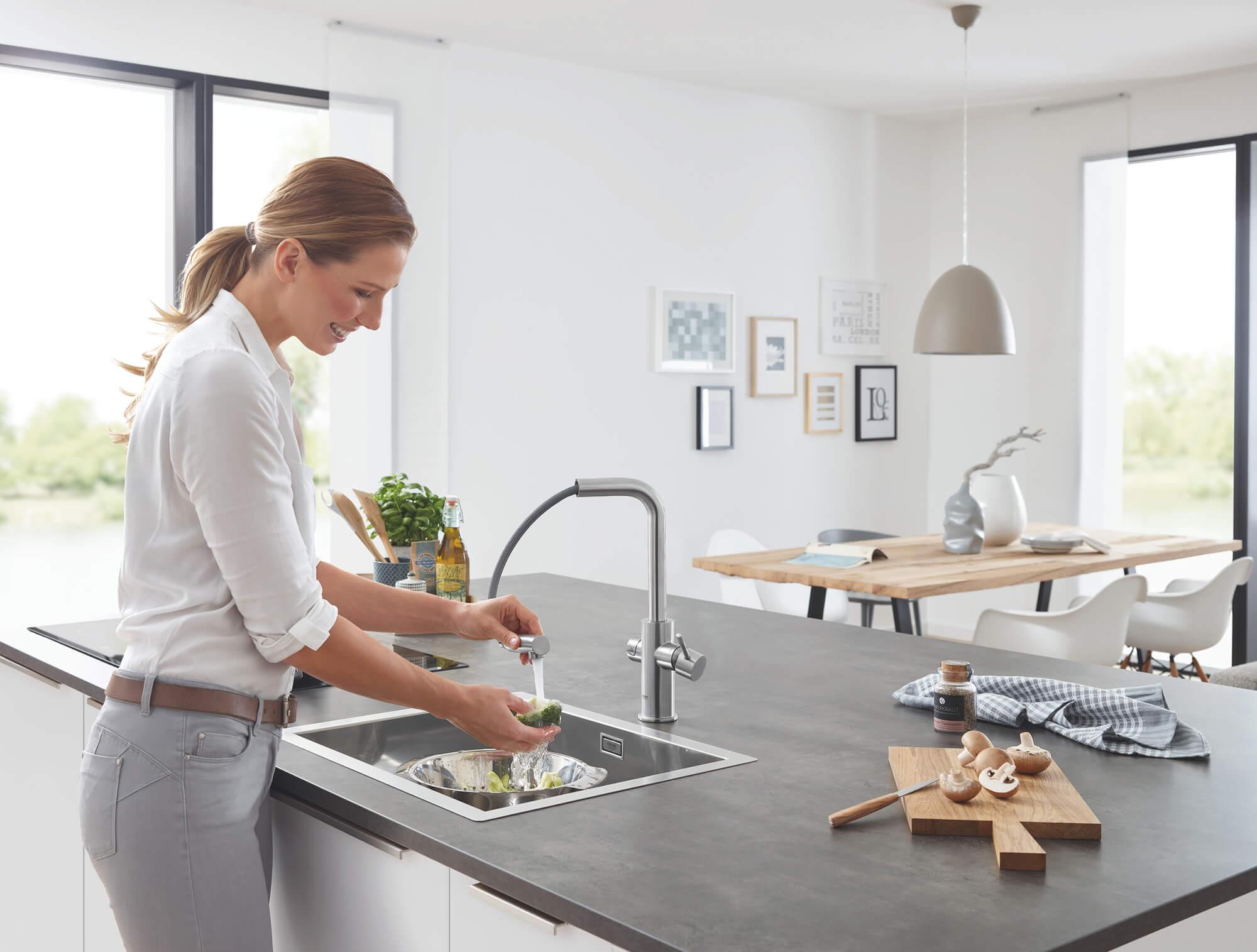 Acqua in cucina 10 aspetti da conoscere per gestire al meglio l'oro blu